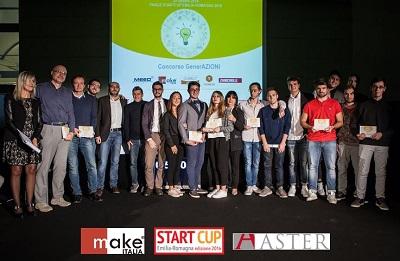 Start Cup 2016: i vincitori della Categoria Giovani premiati da Makeitalia