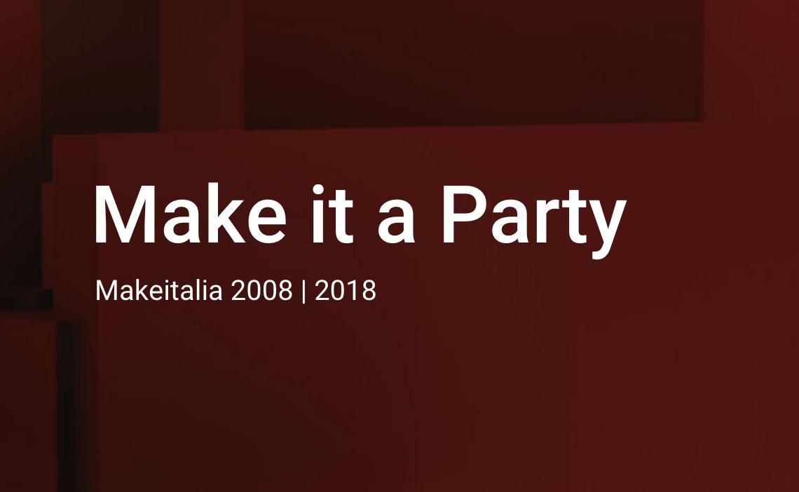 Makeitalia 2008 – 2018: 10 years since the company foundation