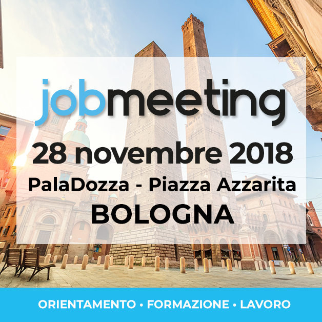 Makeitalia parteciperà al Job Meeting di Bologna – 28 Novembre 2018