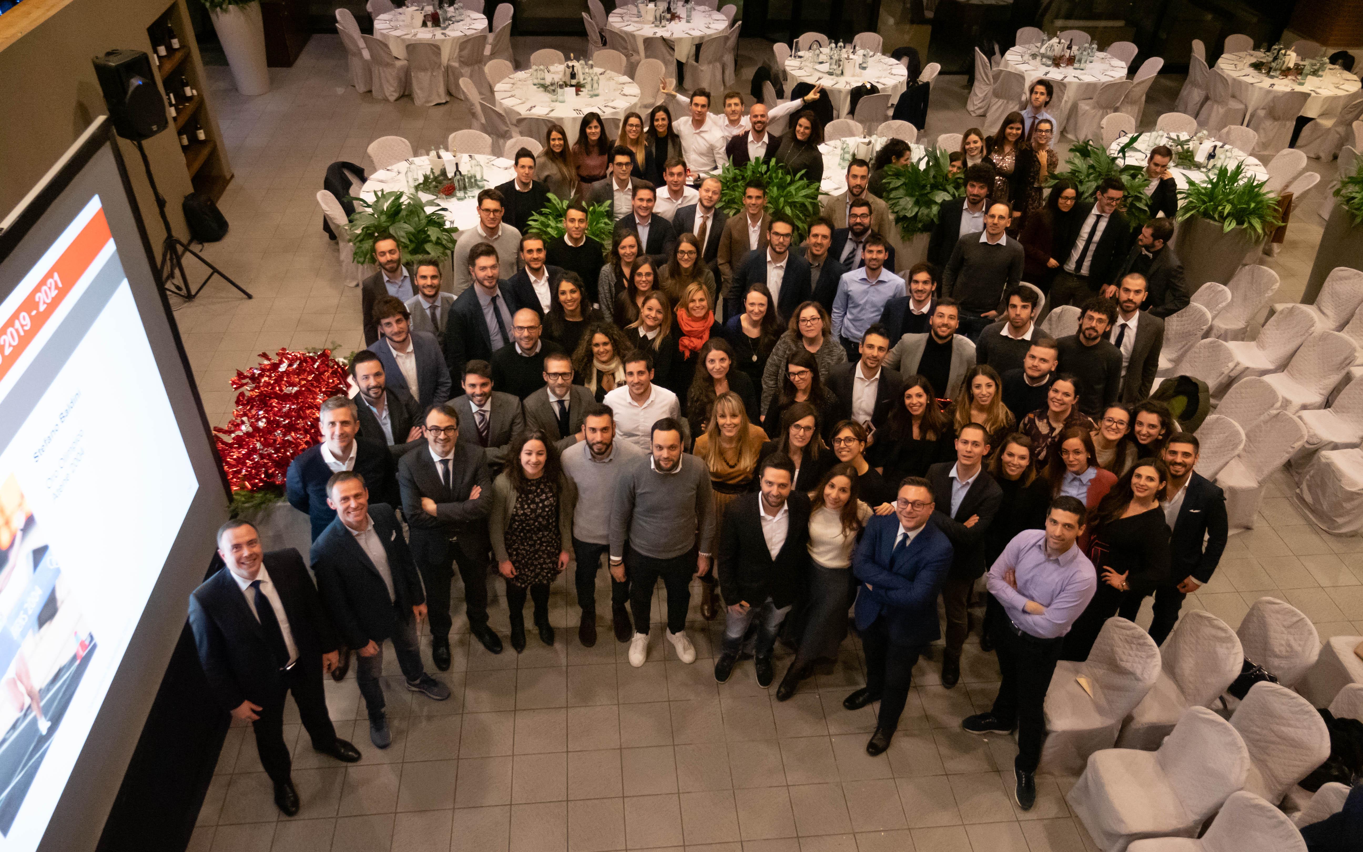 I progetti di Makeitalia lanciati in una serata con il campione Baldini