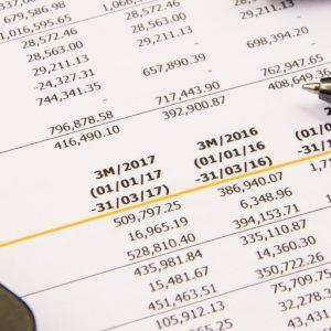 Financial budget statement