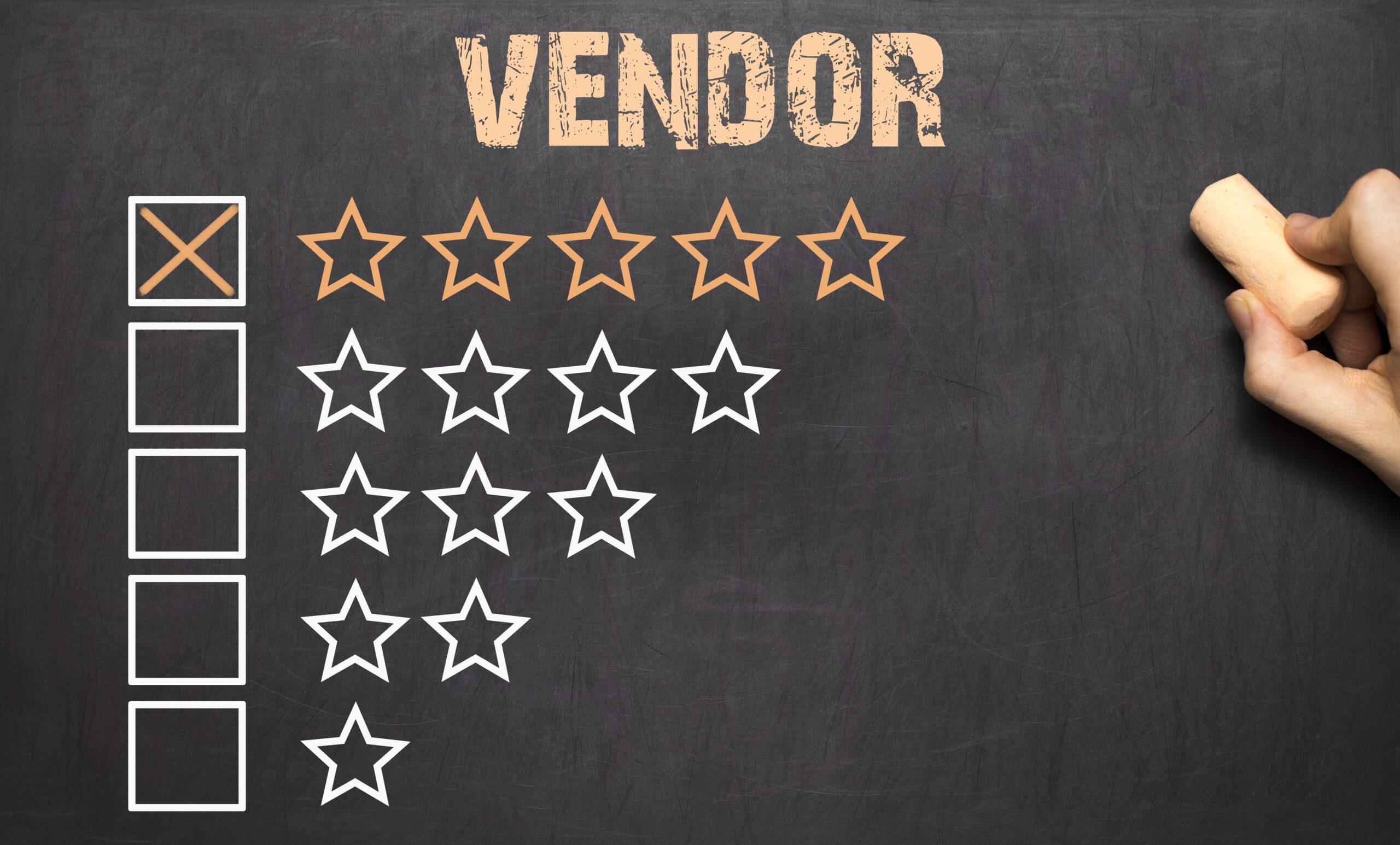 Workshop Online Vendor Rating